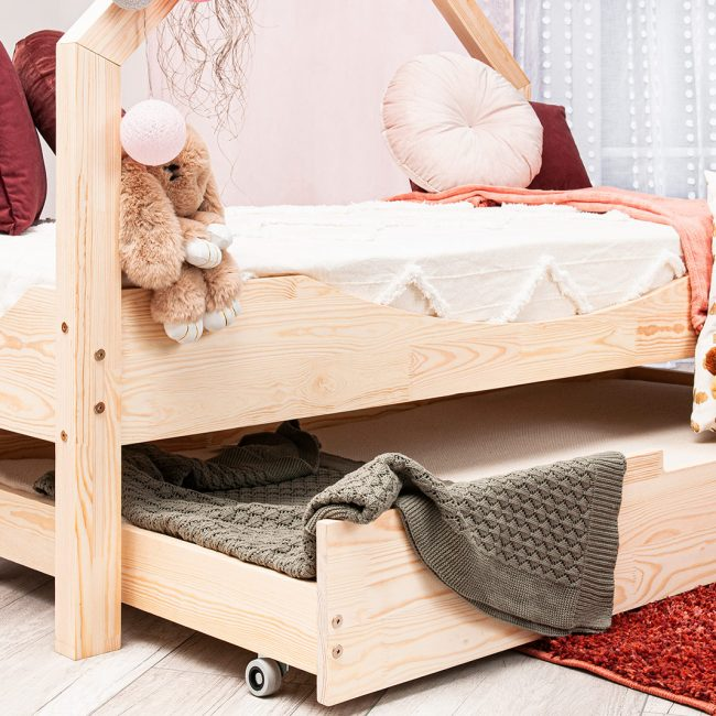 Drawer House Bed