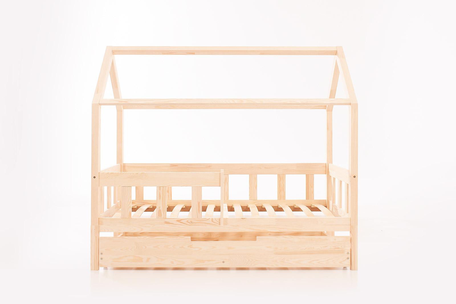 Lit cabane Meli avec un tiroir avec fonction couchage