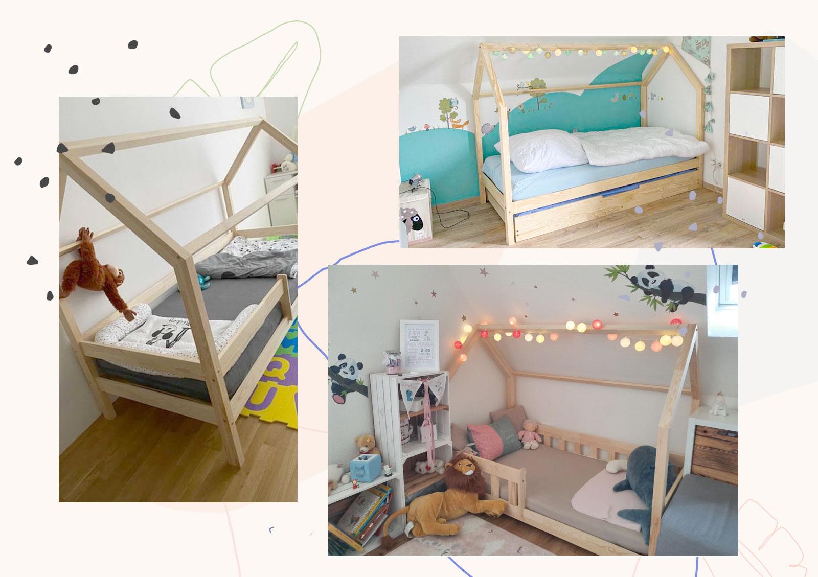 Comment utiliser le lit cabane de manière créative?